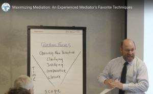 Maximizing Mediation - Jim Melamed #APFM2018