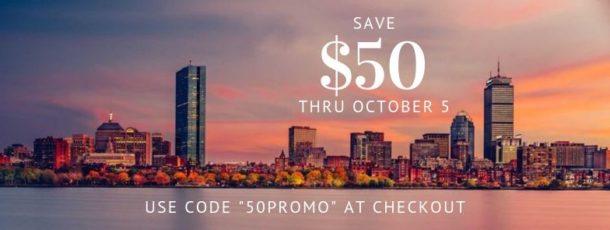 boston skyline promo code
