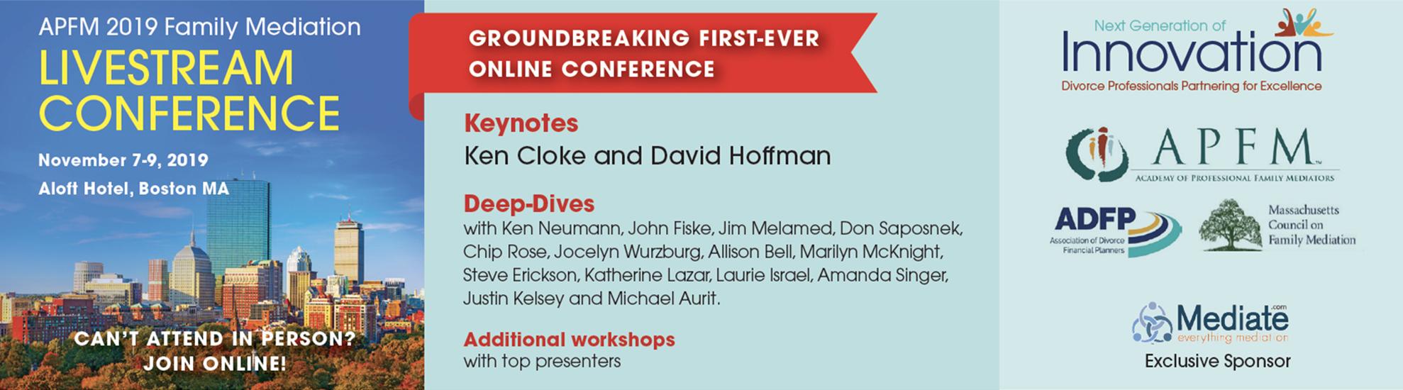 livestream conference banner