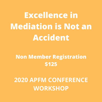 Excellence in Mediation