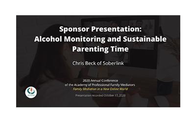 APFM 2020 Conference: Sponsor Presentation – Soberlink