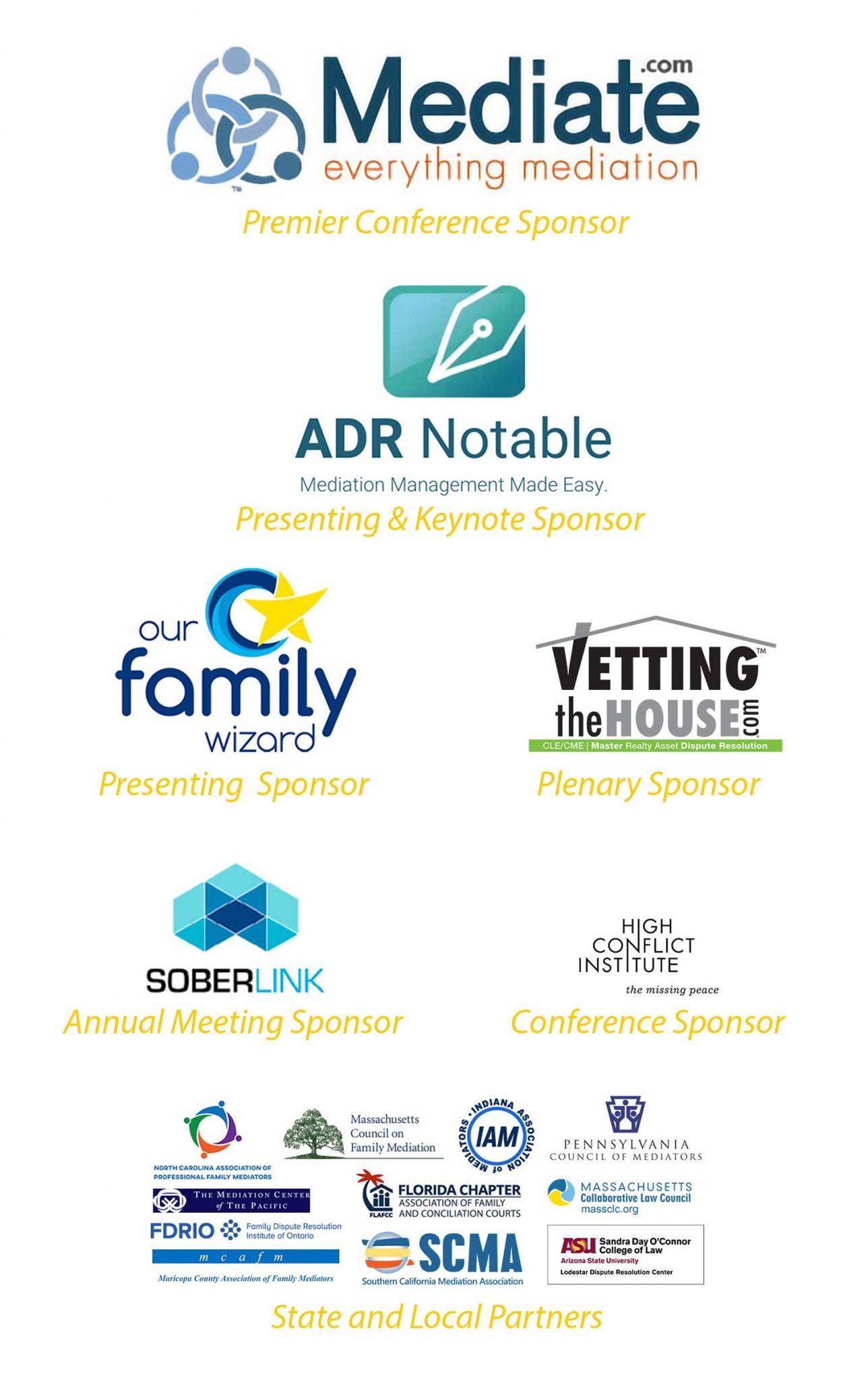 APFM 2021 Sponsors