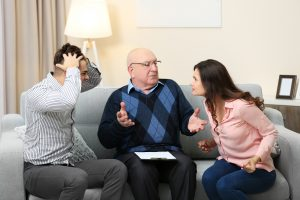 conflict in family mediation