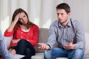 marriage or divorce mediation session